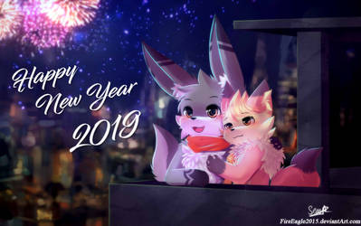 HAPPY NEW YEAR !!! 2019 by FireEagle2015