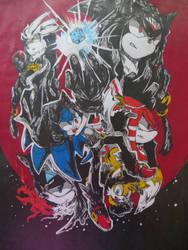 Sonic FanArt by RhymeFox95
