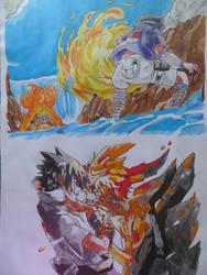 Fight by RhymeFox95