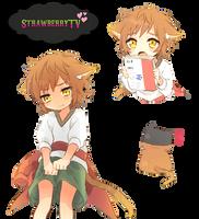 Misaki Yatagarasu render 3 by StrawberryTv