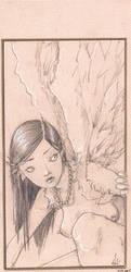 Angel by Fongus