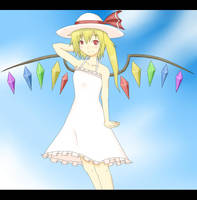 Flandre in Summer Dress by GarlandScarlet