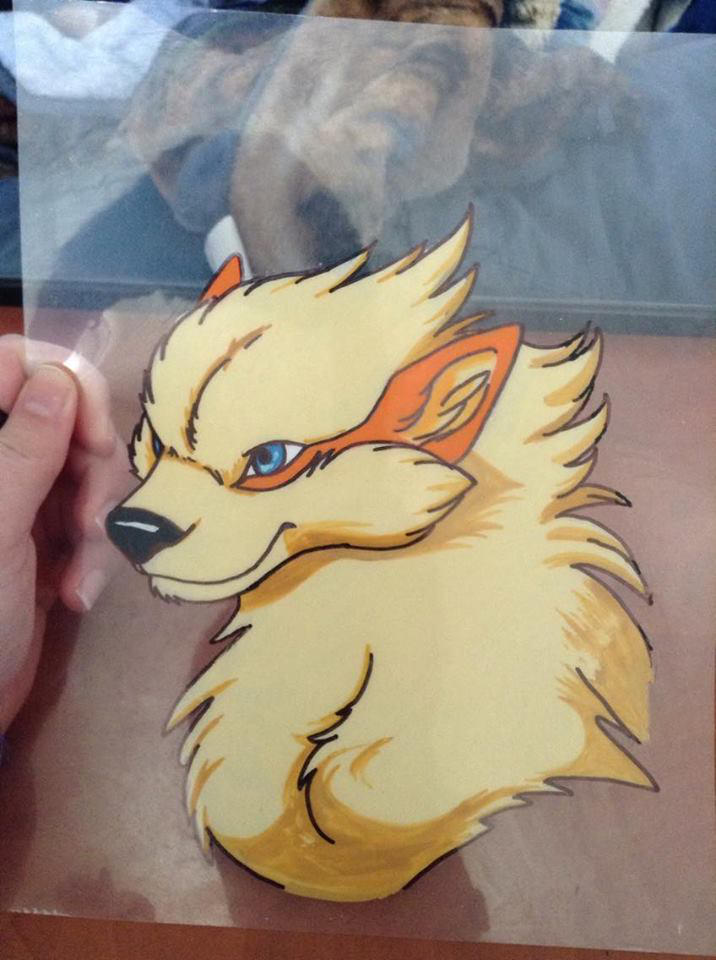 Arcanine Celluloid by InuMimi