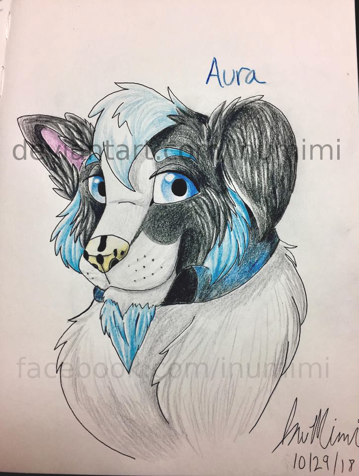 Aura Headshot by InuMimi