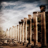 Ephesus columns by lostknightkg