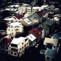 Reykjavik Homes II by lostknightkg