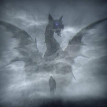 Night King's Dragon by lostknightkg