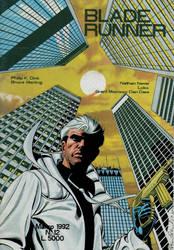 NATHAN NEVER  cover Blade Runner by PinoRinaldi