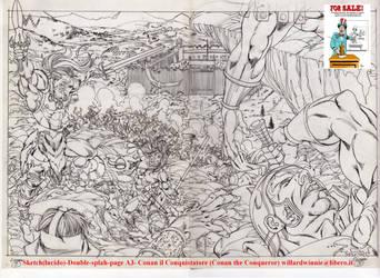 For Sale: Conan SKETCH-A3 by PinoRinaldi