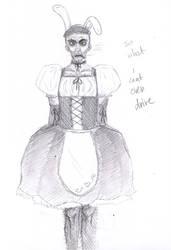 Man In Maid Dress by Tigrantia