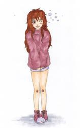 Pink Girl by Tigrantia