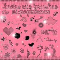Todoss Mis Brushess by PopBlanca