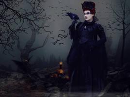 Dark Wings by AusWolf666