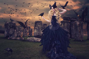 Dance with the Corbie Queen by AusWolf666
