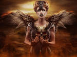 Lady Samhain by AusWolf666