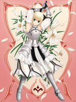 Saber Lily FateUnlimited Codes by Robin-Arc