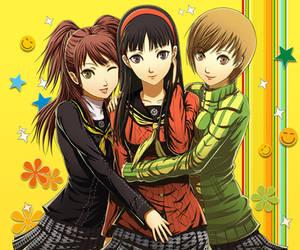 Persona Girls by Robin-Arc
