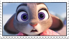 Judy Hopps Stamp by FuchsRobinHood