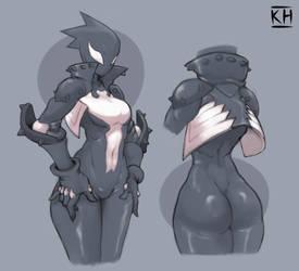 she-Venom Mania#3 by KelvinHiu