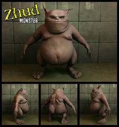 Zhud Monster Texturized by darktactics