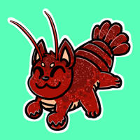 lobster kitty by Huggggs