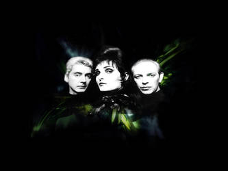 Siouxsie and The Banshees by lonelydeath
