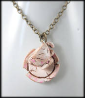 Broken Tea Party Necklace by NeverlandJewelry