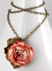 Aging Beauty Necklace by NeverlandJewelry
