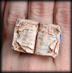 Lifes an Open Book, Ring by NeverlandJewelry