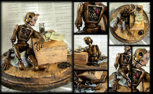 Automaton Soulless Man by NeverlandJewelry