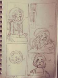 { o c } comic sneak peek by CyanCookie