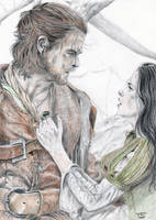 Snow and her Huntsman by sourcherry1