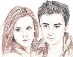 Michael and Anahita by sourcherry1