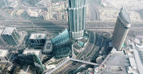 Dubai Cityscape by Exartia