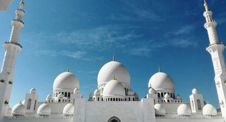 Sheikh Zayed Grand Mosque by Exartia