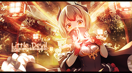 Little Devil Sig by Exartia