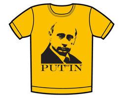 Putin T-shirt by whatthis