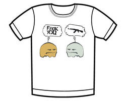 Amebas t-shirt by whatthis