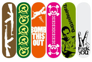 Skateboards design by whatthis