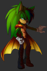 Scourge the hedgehog|alt/ver. by Scourge157