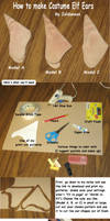 How to Make Costume Elf Ears by Zeldaness