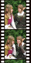 Filmstrip of Funny Faces by Zeldaness