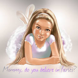 Do you believe in fairies? by Janama