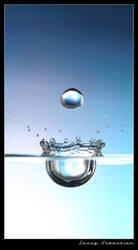 Blue Drops by lessysebastian
