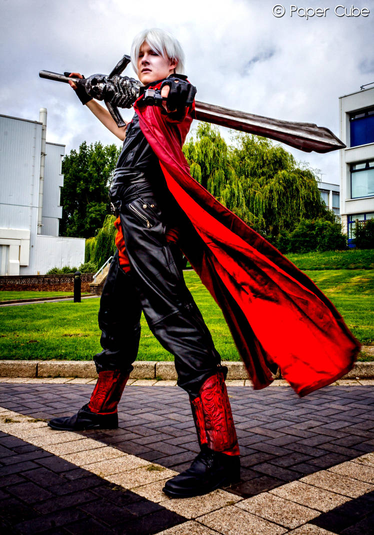 Dante- Son of Sparda by Rainbow-Spex