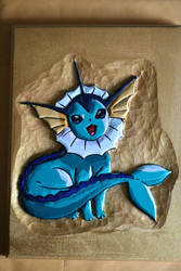 #134 Vaporeon by SpikeFiremane