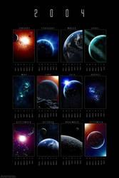 2004 Cosmic Calendar by dinyctis