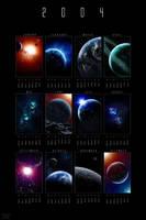 2004 Cosmic Calendar - ROTW Ed by dinyctis