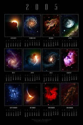 2005 Cosmic Calendar by dinyctis