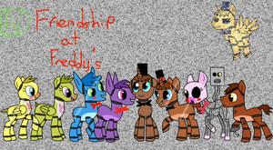 Friendship at Freddy's by vortexa101
